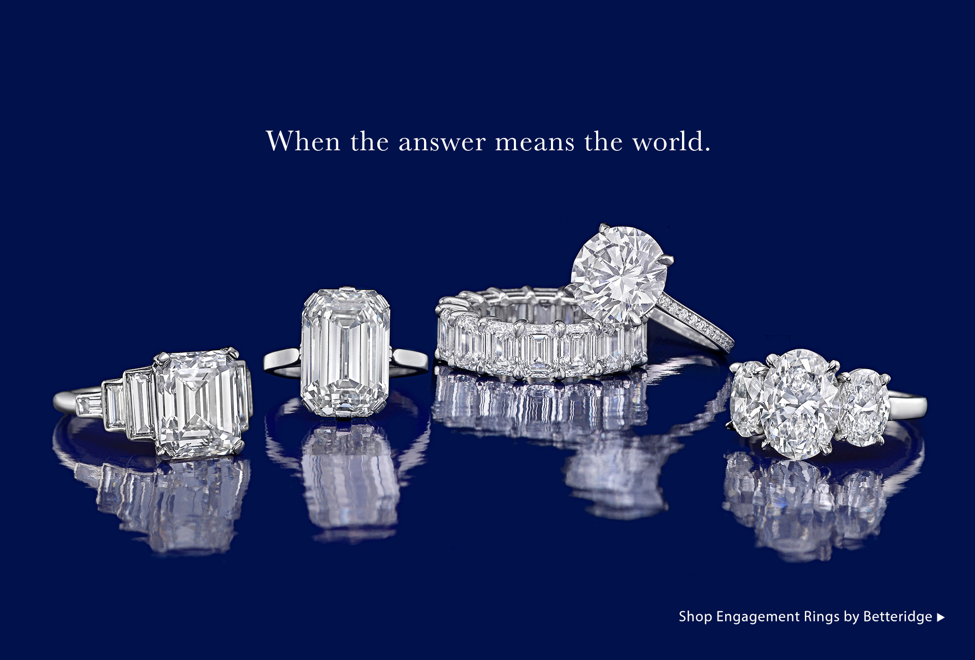 Shop Engagement Rings by Betteridge
