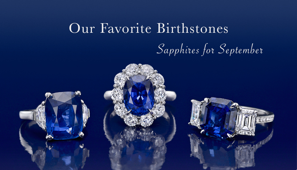 Sapphires for September - Birthstone Jewelry