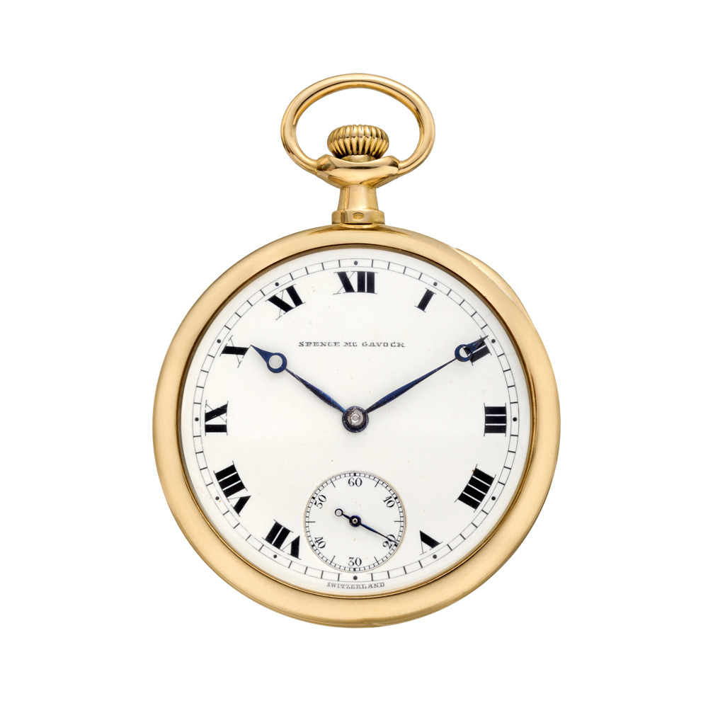 pre owned patek philippe vintage open faced yellow gold