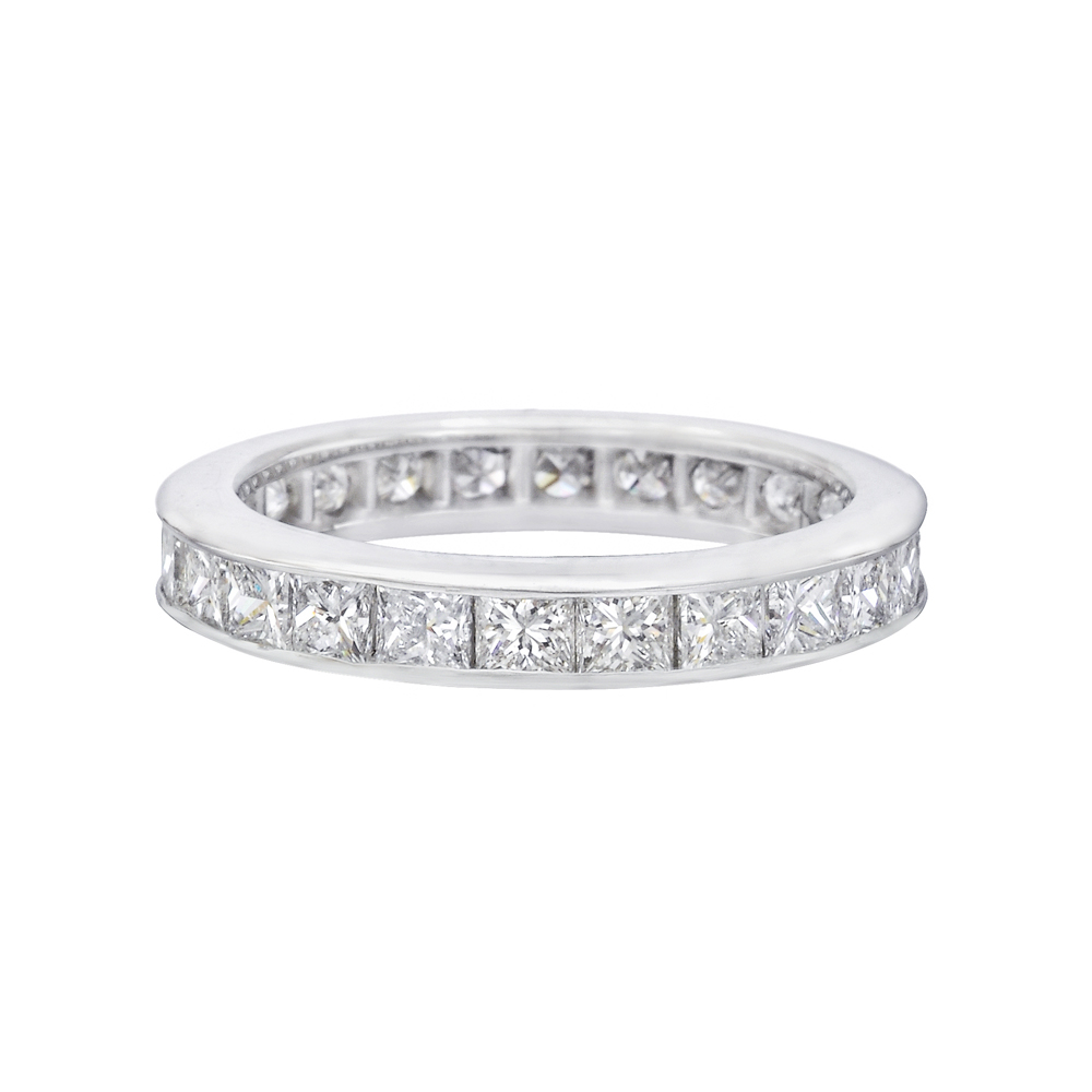 Princess Cut Diamond Eternity Band Betteridge