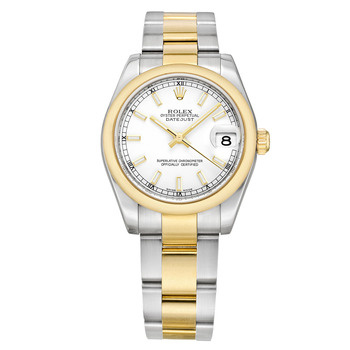 Rolex Lady Oyster Perpetual Datejust 2 Tone 的图像结果