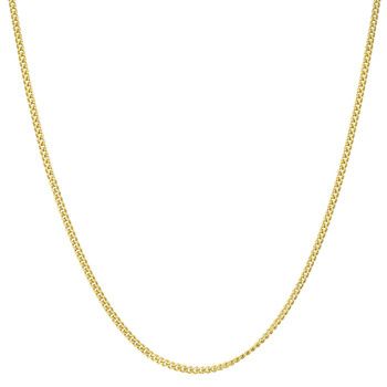 Gold Chain Link Necklace