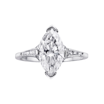 Diamond Shaped Ring Ringscladdagh