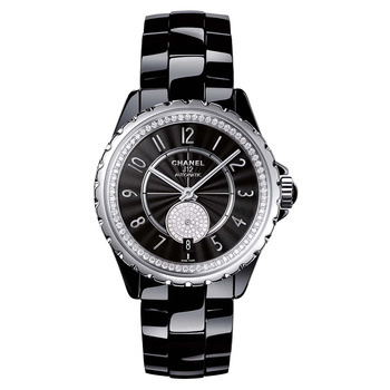 Watches > Chanel > J12 Black > 365 > ​J12-365 Black Ceramic & Diamond (H3840)