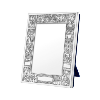 Sterling Silver Baby Picture Frames on Silver Birth Record Frame 3 5 X 4 5 Birth Record Frame In Sterling