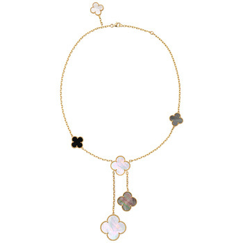 Van Cleef Arpels Magic Alhambra Necklace with Pendants