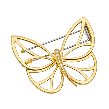 Estate Van Cleef & Arpels Papillon Clip