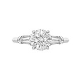 1.14 Carat Round Brilliant Diamond Engagement Ring