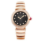 ​Ladies' LVCEA 33mm Rose Gold & Diamonds (102191)