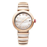 Ladies' LVCEA 33mm Steel & Rose Gold (102198)