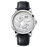 Lange 1 Time Zone Luminous Manual White Gold (116.039)