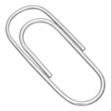 14k White Gold Large Paperclip Money Clip