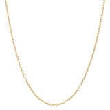 14k Yellow Gold Thin Chain Necklace (16&quot;)