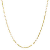 18k Yellow Gold Chain Necklace (20&quot;)