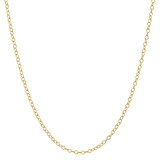 "​18k Yellow Gold Chain Necklace (30"")"