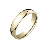 ​18k Gold Comfort Fit Wedding Band (5mm)