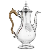 18th Century American Silver Coffee Pot