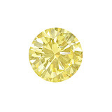 2.47 Carat Fancy Intense Yellow Diamond