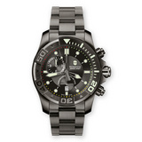 Dive Master 500M Chrono Quartz Steel Gunmetal PVD (241424)