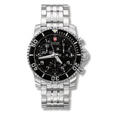 Maverick II Chrono Quartz Steel (24144)