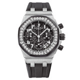 Lady Royal Oak Offshore Steel & Diamonds (26048SK.ZZ.D002CA.01)