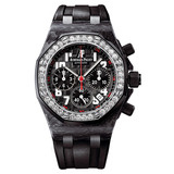 Lady Royal Oak Offshore Forged Carbon & Diamonds (26267FS.ZZ.D002CA.01)