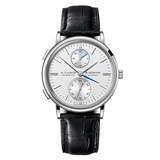​Saxonia Dual Time White Gold (386.026)