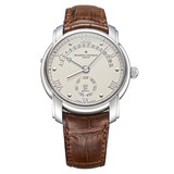 Patrimony Retrograde Automatic White Gold (47245)
