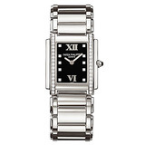 Ladies' Twenty-4 Quartz Steel & Diamonds (4910/10A)