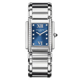 Ladies&#039; Twenty-4 Quartz Steel &amp; Diamonds (4910/10A)