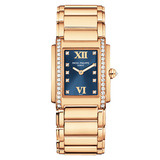 Ladies&#039; Twenty-4 Quartz Rose Gold &amp; Diamonds (4910/11R)