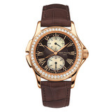 Ladies' Calatrava Travel Time Manual Rose Gold (4934R)