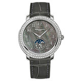 Ladies&#039; Moon Phase Manual White Gold &amp; Diamonds (4968G)