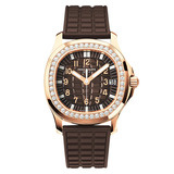 Ladies' Aquanaut Luce Automatic Rose Gold & Diamonds (5068R)