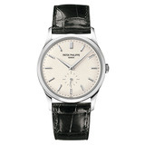 Calatrava Manual White Gold (5196G)