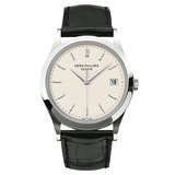 Calatrava Automatic White Gold (5296G)