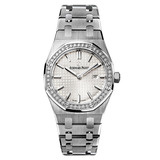 ​Lady Royal Oak Steel & Diamonds (67651ST.ZZ.1261ST.01)