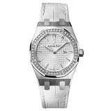 ​Lady Royal Oak Steel & Diamonds (67651ST.ZZ.D011CR.01)
