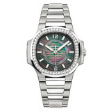 Ladies&#039; Nautilus Automatic Steel &amp; Diamonds (7008/1A)