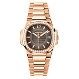 Ladies' Nautilus Quartz Rose Gold & Diamonds (7010/1R)