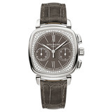 """Ladies' First Chronograph"" Manual White Gold & Diamonds (7071G)"