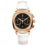 """Ladies' First Chronograph"" Manual Rose Gold & Diamonds (7071R)"