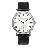 Ladies' Calatrava Manual White Gold (7119G)