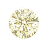 8.02 Carat Round Brilliant Cut Diamond (W-X/VS1)
