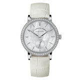 Ladies' Saxonia White Gold & Diamond (878.029)