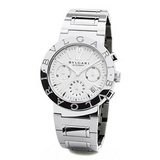 Bvlgari-Bvlgari Chrono-Automatic Steel (BB38WSSDCH/N)