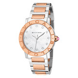 Bvlgari-Bvlgari Lady Automatic Steel &amp; Pink Gold (BBL33WSPG/12)