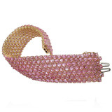 Pink Sapphire 7-Row Bracelet