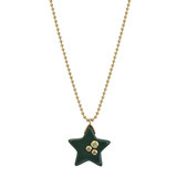 """Aster"" Gem-Set Bakelite Star Pendant"
