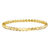 """Brillante"" 18k Gold & Diamond Bangle"